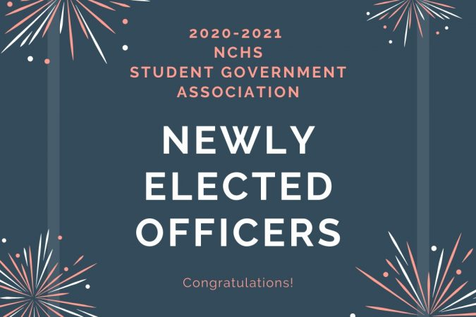NCHS Newly Elected SGA Officers