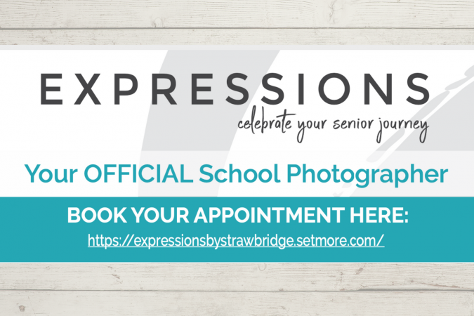 senior portraits book appointment